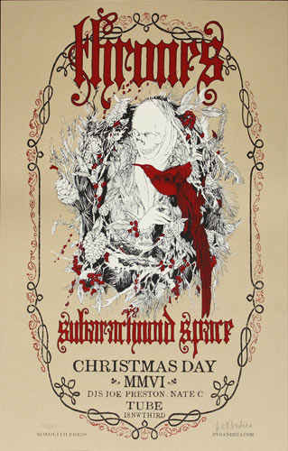 David V. D'Andrea Thrones Poster