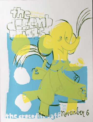 Jesse LeDoux - Patent Pending The Decemberists Poster