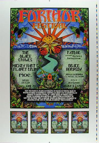 Michael Everett Furthur Festival Uncut Proof Sheet