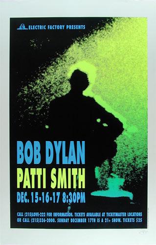 Wig Bob Dylan Poster