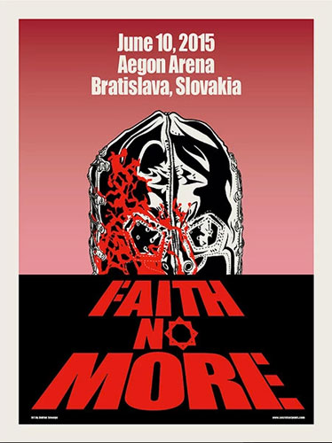 Doktor Sewage Faith No More Poster