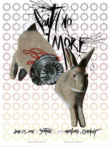 Robert Bowen Faith No More Poster