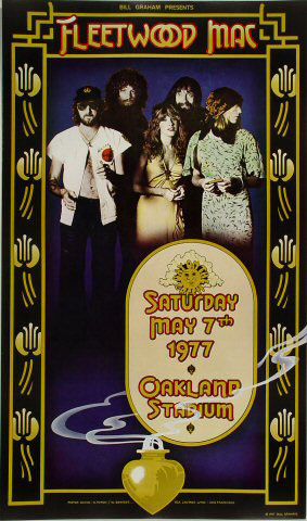 Randy Tuten and Bill Bostedt Fleetwood Mac Day on the Green Poster