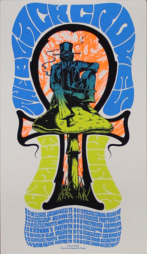 Alan Forbes The Black Crowes 20th Anniversary Tour Handbill