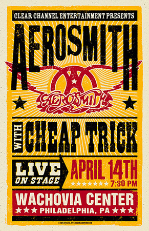 Dave Gink Aerosmith Poster