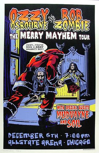 Dave Gink Ozzy Osbourne Poster
