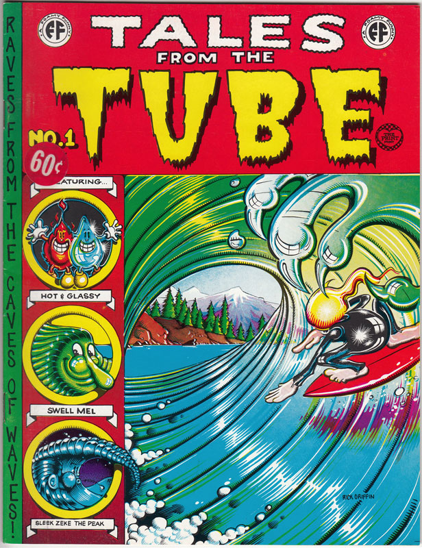 Rick Griffin Tales from the Tube Underground Comic Book