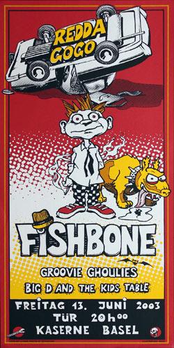 The Henk (Henk Pensky) and Steph Combo (Steph Tschopp) Fishbone Poster
