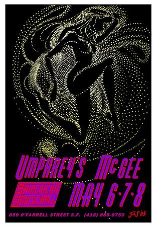 John Seabury Umphrey's McGee Poster
