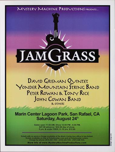 Jam Grass featuring David Grisman Quintet Poster