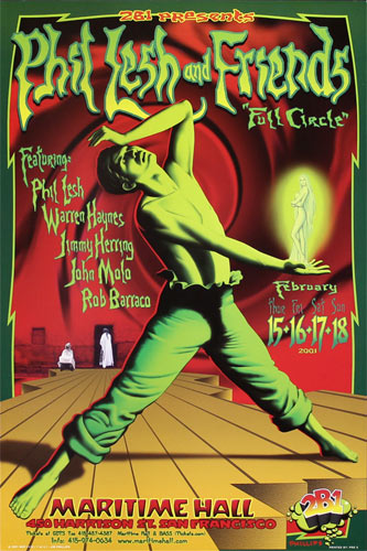 Jim Phillips Phil Lesh and Friends Poster
