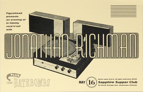 Thomas Scott (Eyenoise) Jonathan Richman Poster