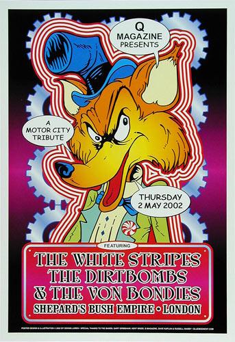 Dennis Loren The White Stripes Poster