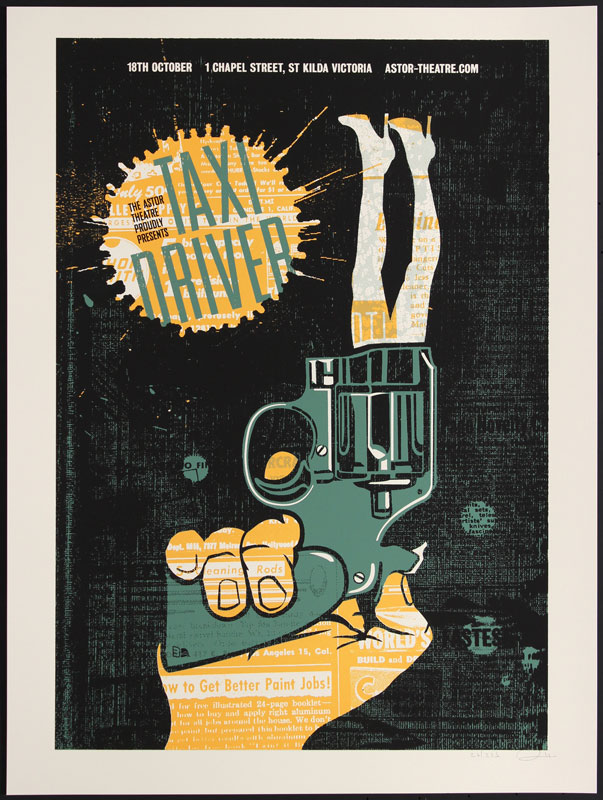 Methane Studios Taxi Driver Movie Poster