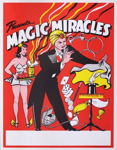 Magic Miracles Magic Show Poster