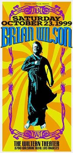 Mark London Brian Wilson Poster