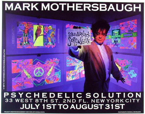 Mark Mothersbaugh Art Show Poster