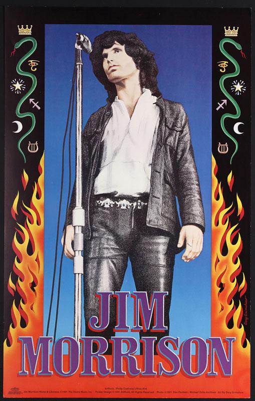 Gary Grimshaw Jim Morrison - The Doors Poster