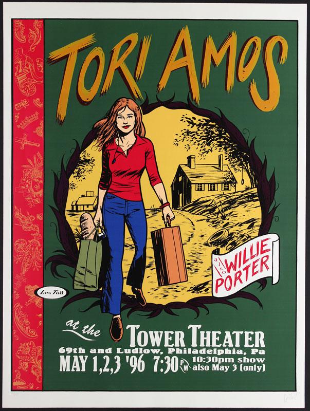 Les Toil Tori Amos Poster