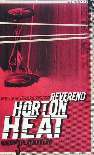 Punchgut Reverend Horton Heat Poster