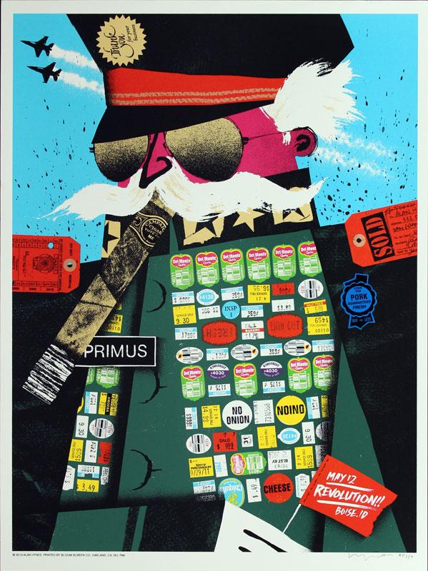 Alan Hynes Primus Poster