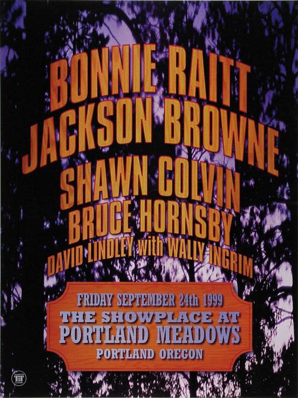 Bonnie Raitt and Jackson Browne Poster