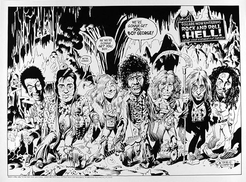 Rock and Roll Hell Poster