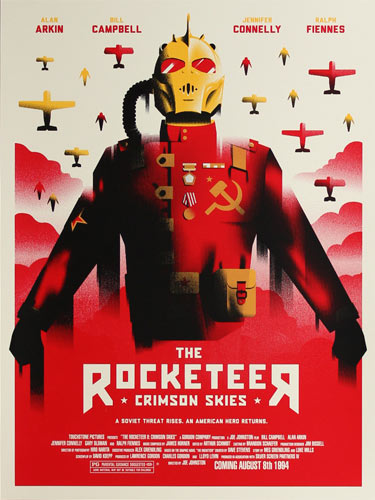 Alex Griendling The Rocketeer Movie Poster