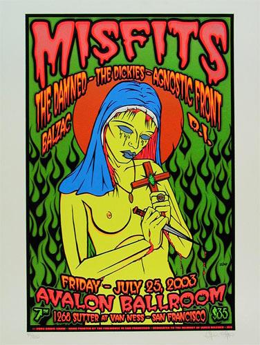 Chris Shaw Misfits Poster