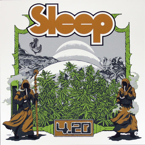David D'Andrea and Arik Roper Sleep 4/20 Poster