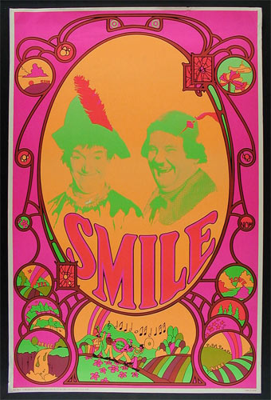 Beatles Yellow Submarine Laurel & Hardy Poster