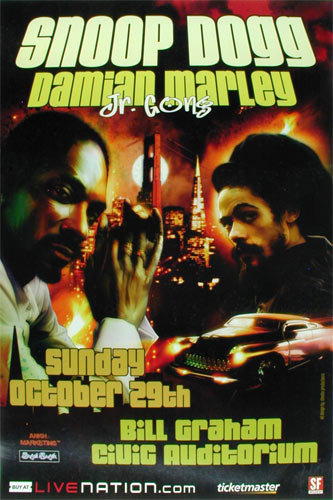 Snoop Dogg and Damian Marley Poster