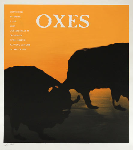 Oxes Poster