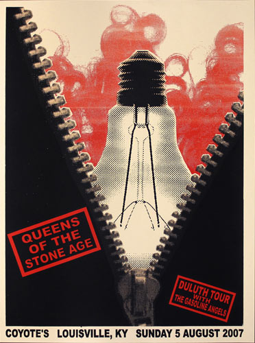 Steve Walters Queens of the Stone Age Poster