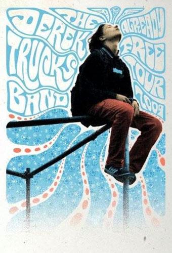 Jeff Wood - Drowning Creek The Derek Trucks Band Poster