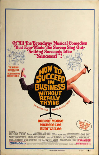 How To Succeed In Business Without Really Trying Movie Poster