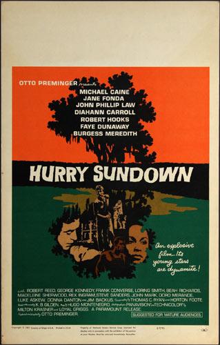 Hurry Sundown Movie Poster