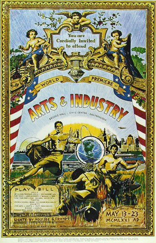 Arts And Industry Poster