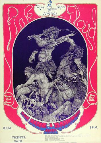 Robb Brown Pink Floyd Terrace Ballroom Poster
