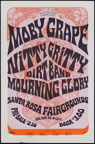 The Mod Russian Moby Grape Handbill