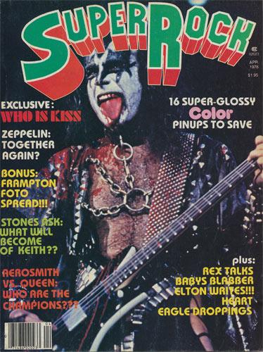 Super Rock April 1978 Music Magazine