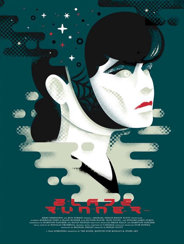 David Moscati Blade Runner Movie Poster