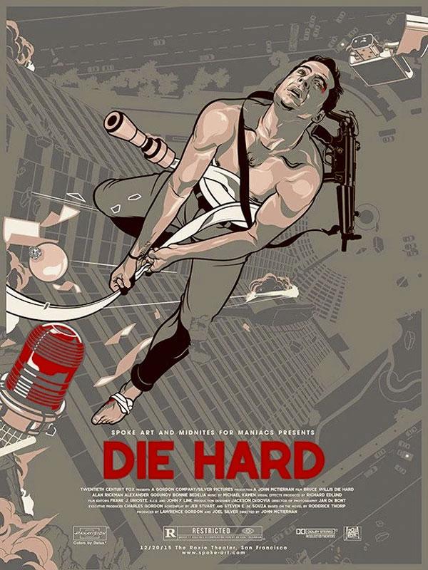 Vincent Aseo Die Hard Movie Poster