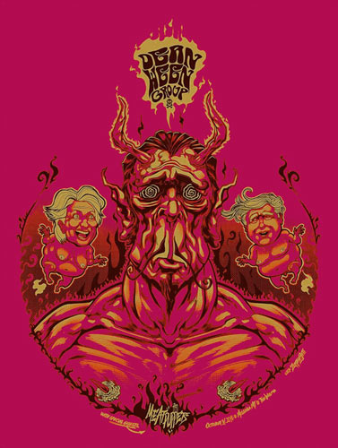 Zombie Yeti Dean Ween Group Poster
