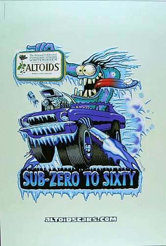 Stanley Mouse Hot Rod Altoids Poster #1 Wintergreen