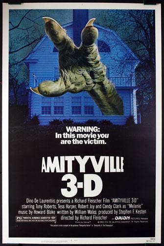 Amityville 3-D 3D Movie Poster