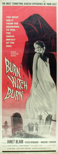 Burn Witch Burn Movie Poster