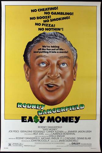 Easy Money featuring Rodney Dangerfield Movie Poster