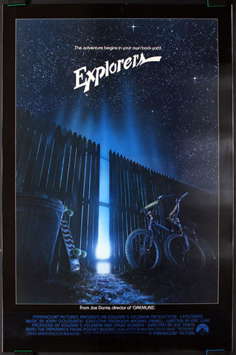 Explorers Movie Poster