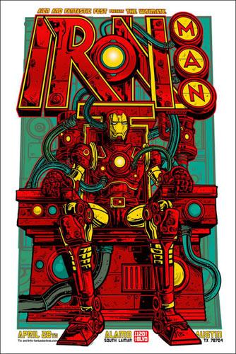 Jesse Phillips Iron Man Movie Poster